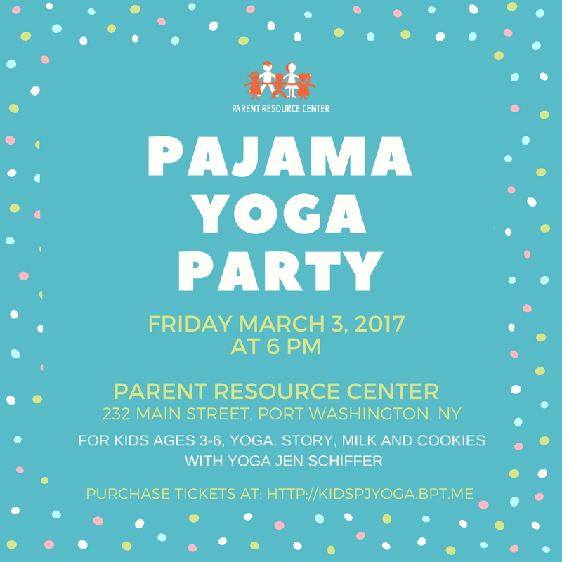 Kids Pajama Party Flyer